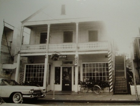 Barber Shop on duval near artists unlimited 1963; Submitted by Bill