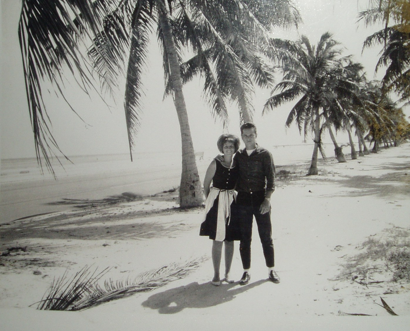 Mickey and Brenda Hinde on the bridle path in 1966